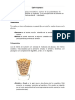 Carbohidratos vegetales