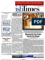 Jewish Times - Volume I,No. 22...July 4, 2002