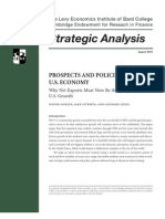 PROSPECTS AND POLICIES FOR THE