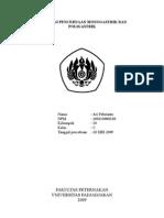 laporan praktikum fisiologi ternak - pencernaan poligastrik dan monogastrik