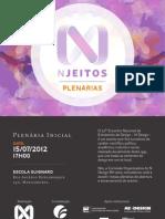 Convite plenária inicial - N Jeitos BH'2012
