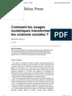 Read Write Book 2 - Comment Les Usages NumeI Riqu. - Antonio Casilli - OpenEdition Press