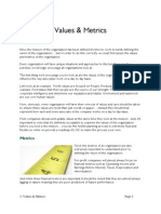 03 Values and Metrics