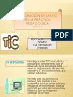 semana 4-integracion de las TIC en la práctica pedagógica