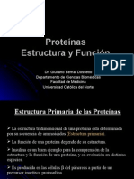 Procesos Biologicos - 04 - Estructura y Funcion de Proteinas.27.03.09