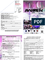 AWAKEN 2013 Brochure for Out of Town Groups
