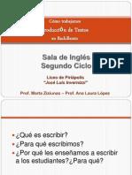 Producción de Textos en la Asignatura Inglés