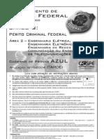 Cespe 2004 Policia Federal Perito Criminal Engenharia Eletrica Eletronica Prova