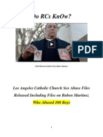 Do RCs KnOw Rogue's-Row Poster Child Molester Priest Ruben Martinez?