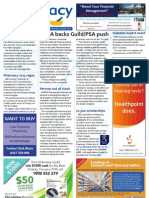 Pharmacy Daily for Wed 07 Aug 2013 - NPSA Guild