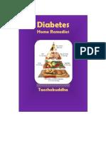 Diabeties - Home Remedies