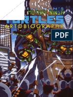 Teenage Mutant Ninja Turtles Artobiography Preview