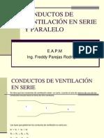 Conductos de Ventil. Serie y Paralelo