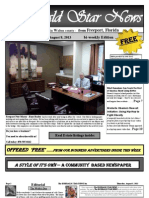 THE EMERALD STAR NEWS  - August 8, 2013 Edition