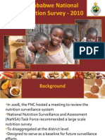 Zimbabwe Nutrition Survey 2010 Report