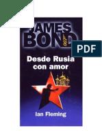 Ian Fleming Desde Rusia Con Amor