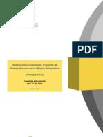Anteproyectos Conectividad, Expansión de Redes y Servicios para la Región Metropolitana-Chi