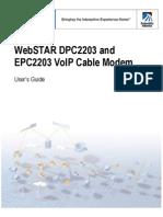 Manual Del Cable Modem Scientific Atlanta DPC2203