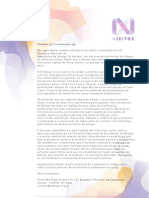 Carta Coordenador de Curso - N Jeitos BH'2012
