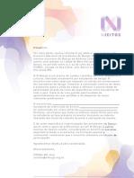 Carta Para Editais - N Jeitos BH'2012