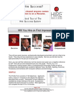 Hire Success(r) Employment Testing System Brochure