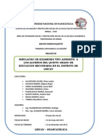 Proyeccion Social 2013