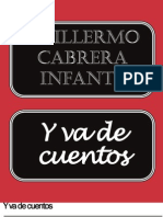 Cabrera Infante Guillermo Y Va de Cuentos