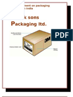Park Sons Packaging Ltd