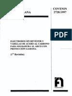2728-97 (Electrodos Baja)