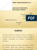 Slides Apresentação de Tecnologia dos transportes FINAL