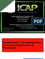ICAP Planejamento e Acompanhamento de Paradas de Manutenção