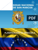 Planificación en venezuela