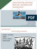 Actualizacion de Ayudas Ergogenicas y Doping en Natacion