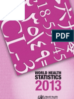 World Health Statistics 2013