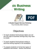 Basic Business Writing
