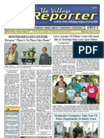 The Village Reporter - August 7th, 2013