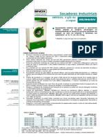 BRASINOX - Secador Rotativo
