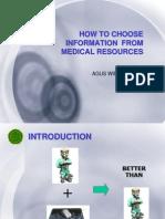 Mencari Sumber Informasi Kedokteran