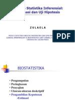 Estimasi Uji Data Kontinu 2011