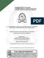 La Caducidad de La Instancia Fundamentada en La Necesidad de Evitar La Mora Procesal en El Proces