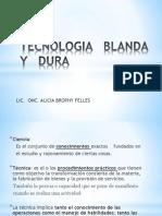 Tecnologia Blanda y Dura