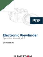 EVF 035W 3G User Manual v.1.6