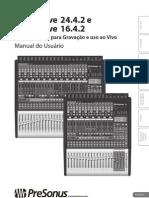 StudioLive2442-1642 OwnersManual BP