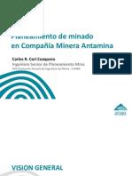 Antamina - Planeamiento de Minado (Carlos Cori - 30nov12)