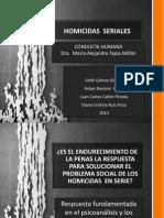 Presentación  HOMICIDAS EN SERIE