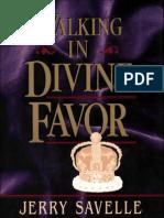 Walking in Divine Favor
