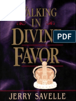Walking in Divine Favor