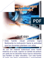 Analisis de Fuentes Audiovisuales