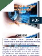 Analisis de Fuentes Audiovisuales