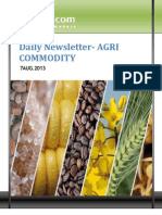 Daily Agri News Letter 07 Aug 2013